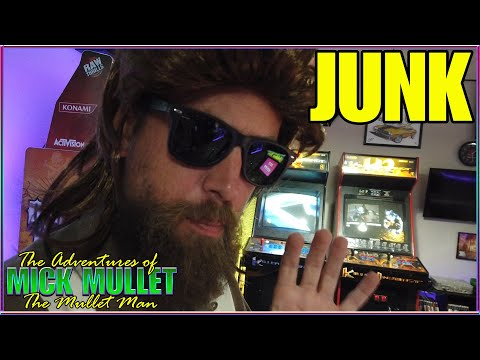 Arcade1Up Bunch of Junk! Nothing Retro about it. Gaming News! Mick Mullet from Mick Mullet