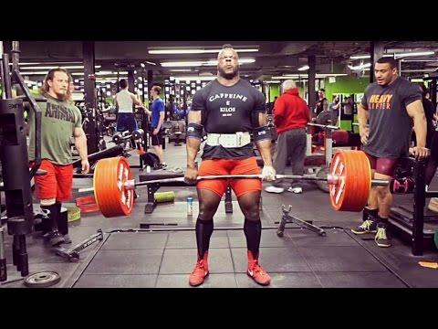 Dan Green, Larry Wheels & Kevin Oak Deadlift Training  U.S. Open Prep  23