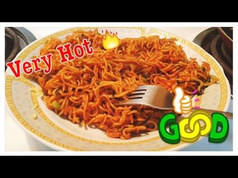 اندومي على طريقتي حار نار | Ramen Noodles recipe