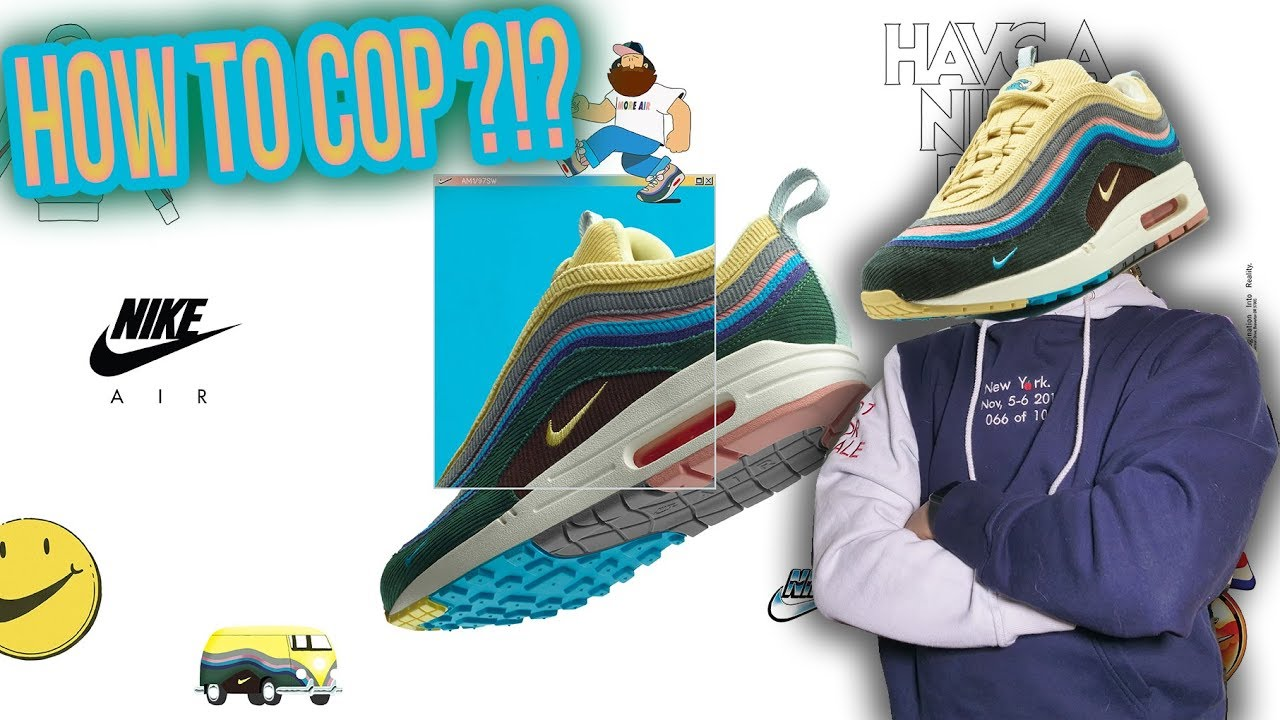 new style a273c e809c WHEN AND HOW TO COP THE NIKE AIR MAX 97 1 SEAN WOTHERSPOON !!!