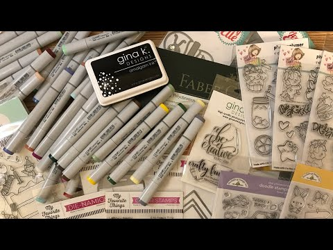 Crafty Haul And Copic Chit Chat • Attention Canadian Crafters - 2 Great Online Supply Stores