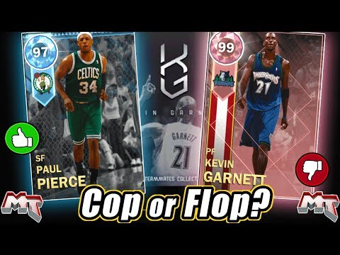 NBA 2K18 MYTEAM - KEVIN GARNETT TEAMMATES COLLECTION REVIEW! COP OR FLOP? CARDS ARE WORTH BUYING?