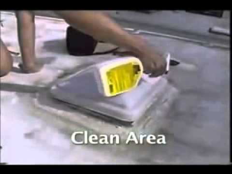Rv Rubber Roof Repair With Eternabond Youtube
