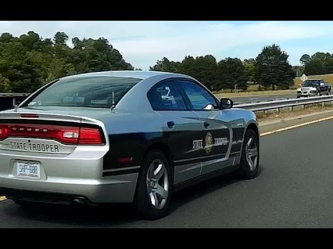 "North Carolina State Highway Patrol ""SHP-688"" Caught Speeding Cops in Work Zone"