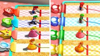 Mario Party The Top 100 - All Mario Party 4 Minigames vs Original (Comparison)