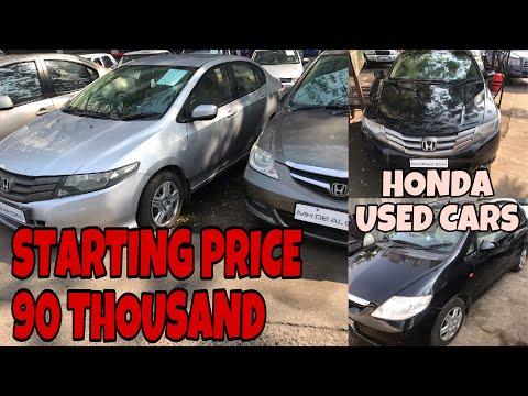 Honda Used Cars Starting Price 90 Thousand   Honda City   Civic   All Brands Used Car   Fahad Munshi