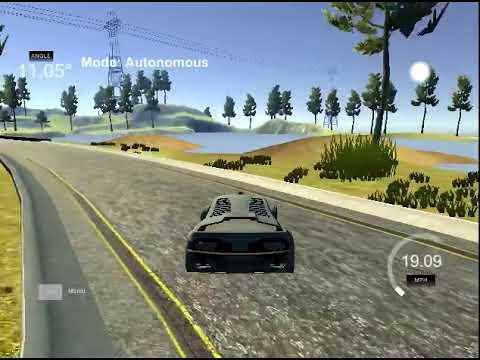 Self-Driving Car Engineer Nanodegree Program - PID controller - P coefficient