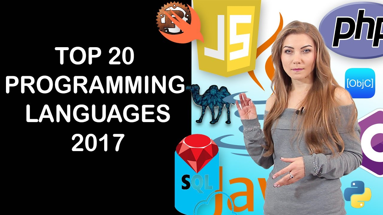 Top 20 Programming Languages of 2017