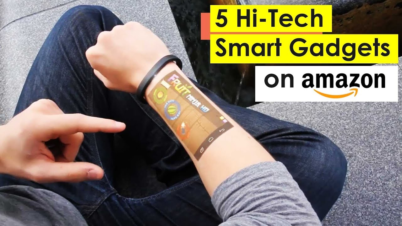 5 Smart Gadgets You Can Buy Online on Amazon ⏰ Futuristic Technology | Future Smart Gadgets