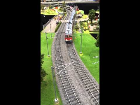 aeroport de cointrin gare cff cointrin gen ve trains miniatures 30 11 2014 youtube. Black Bedroom Furniture Sets. Home Design Ideas