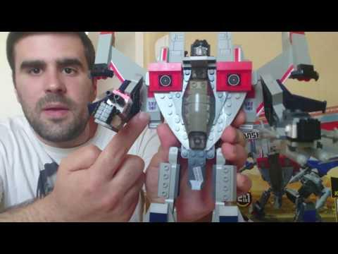 01# Modern játékok - Kre-O Transformers Starscream bemutató, elemzés
