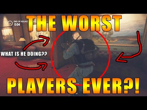 Worst Siege Players?! Copper Ranked - Rainbow Six Siege