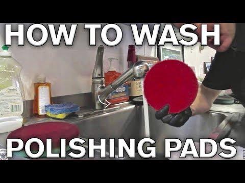 How to Wash Polishing Microfiber Pads