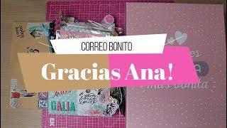 Correo Bonito de Ana Boigues | Loaded bag | Scrapbook