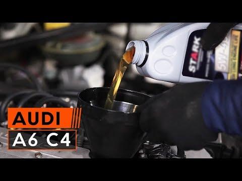 Ölwechsel Audi A6 C4 (wie Motoröl und Ölfilter wechseln)   TUTORIAL AUTODOC