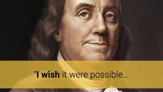 Ben Franklin, First Cryonicist