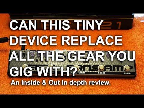 Tech21 Fly Rig 5 V2 Inside and Out Review with sounds   tonymckenziecom