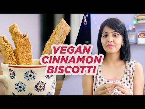 Vegan Cinnamon Biscotti