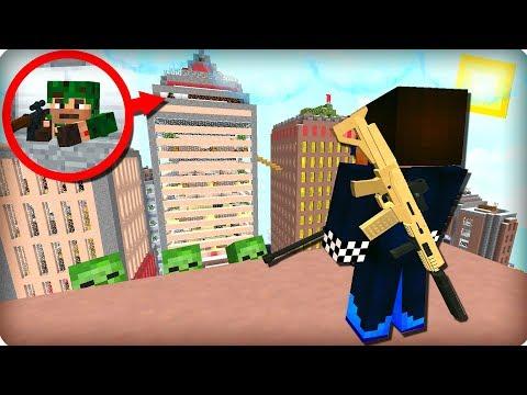 😱Кто за мной следит? ЖЕСТЬ! [ЧАСТЬ 36] Зомби апокалипсис в майнкрафт! - (Minecraft - Сериал)