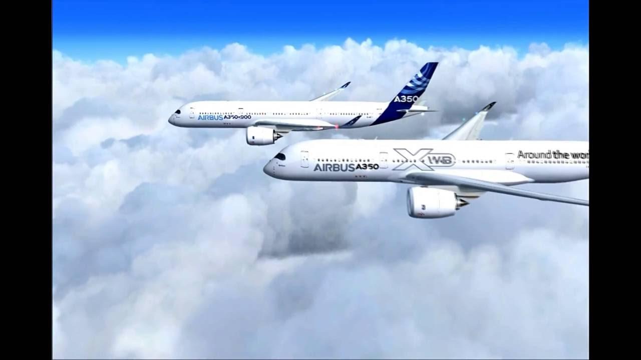Airbus A350XWB Review -FSX [HD]