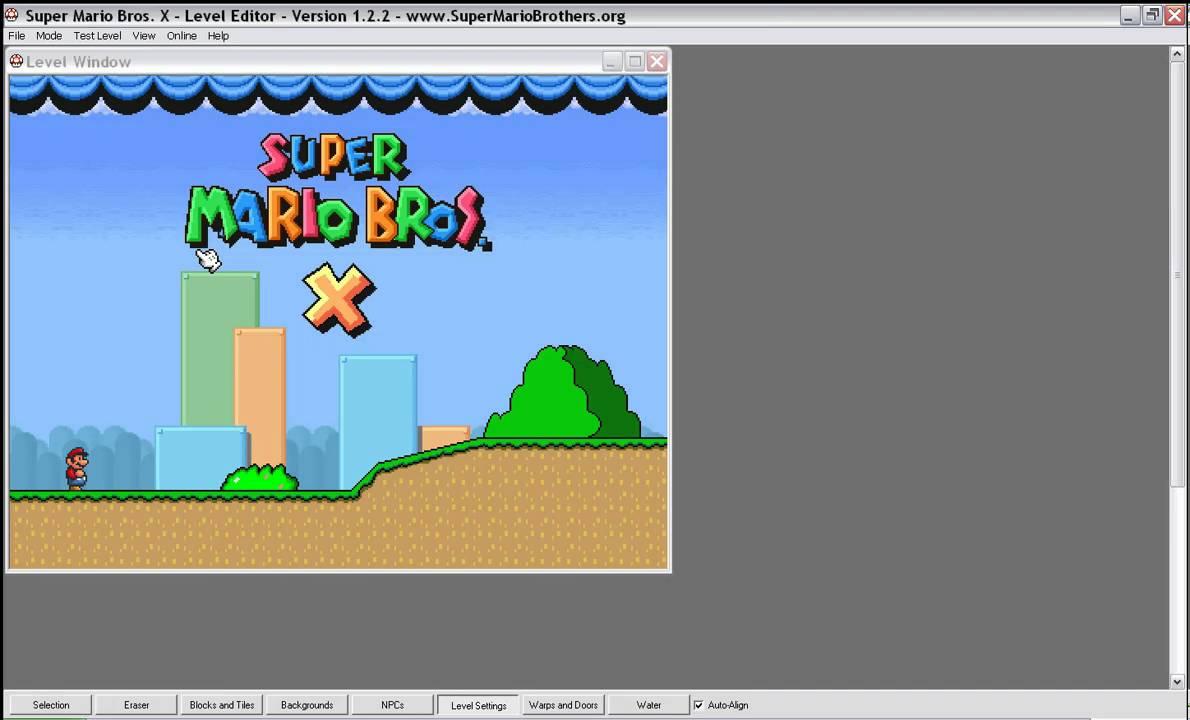 Super mario bros x level editor glitch youtube super mario bros x level editor glitch gumiabroncs Choice Image