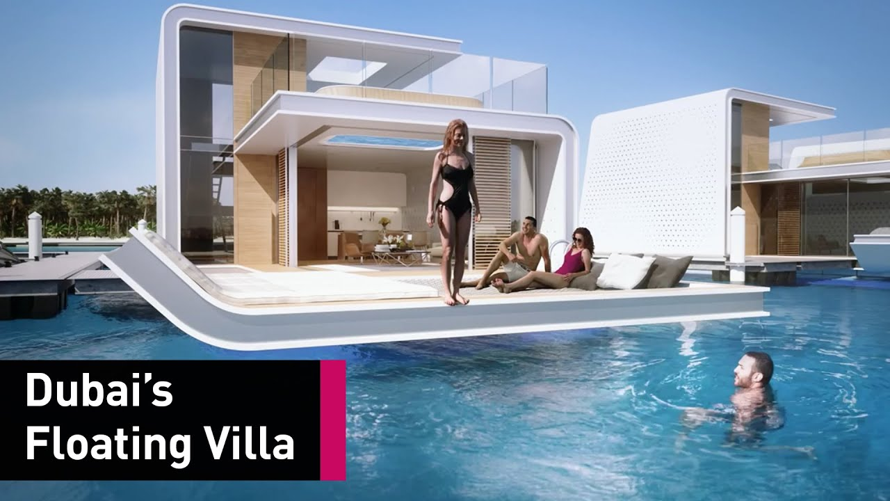 Floating Villas Are Now An Actual Thing