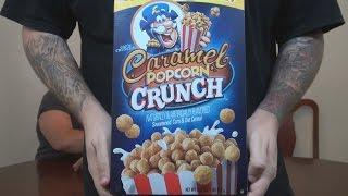 Cerealous Business - Cap'n Crunch's Caramel Popcorn Crunch