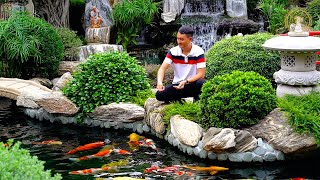 Most Beautiful Backyard Fish Pond of Asia | Garden Designs