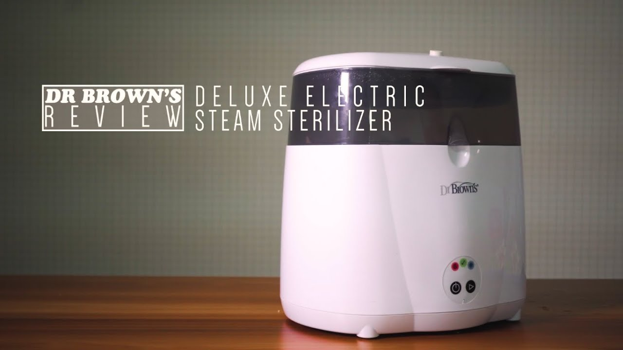 Dr Brown/'s Deluxe Electric Steam Baby Bottle Sterilizer Sanitizer Infant New...