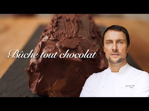 un-réveillon-de-chef-étoilé-:-la-bûche-tout-chocolat-de-sébastien-gaudard