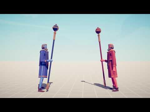 PRIEST Vs PRIEST - Totally Accurate Battle Simulator TABS