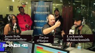 Fat Joe gives Locksmith props + freestyles on DJ Kay Slay