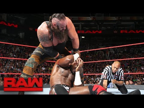 Apollo Crews vs. Braun Strowman: Raw, July 3, 2017