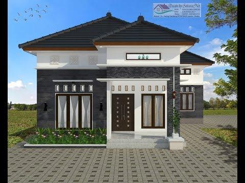 Desain Rumah Minimalis Ukuran 7x12 Meter  modern house 7 5x12 4 untuk leter l 3 k tidur desain