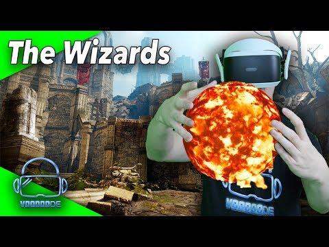 Werdet ein Virtual Reality Zauberer auf der PSVR - The Wizards