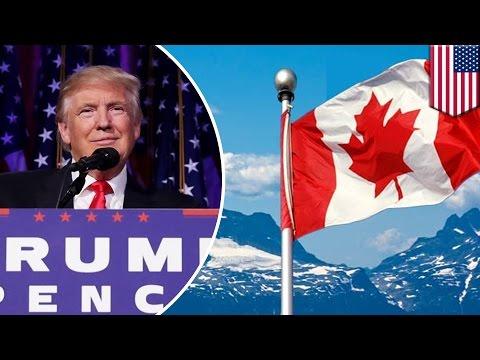Website Imigrasi Kanada error setelah Trump jadi Presiden - Tomonews