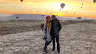 VLOG | Traveling To Turkey | Cappadocia & Its Hot Air Balloons!