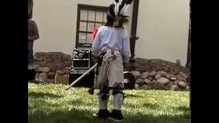 Santa Fe Indian Children Rain Dance 2014