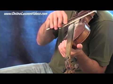 The bowing hand | Learn fiddle technique