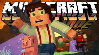 "Minecraft Story Mode: Episode 4 ""A Block And A Hard Place"""
