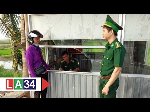 Đức Huệ: Số lượt xuất nhập cảnh giảm nhẹ | LATV