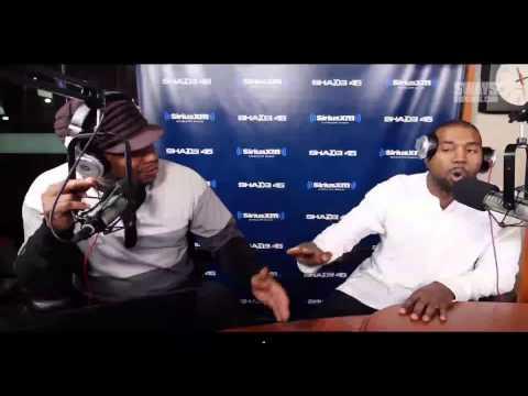 Kanye Spazzes On Sway