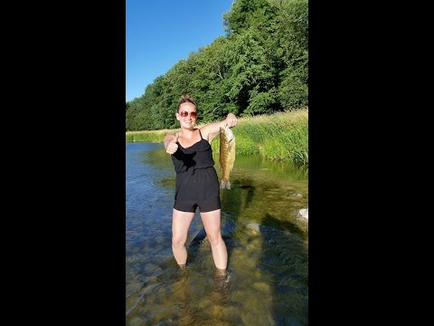 Summer Ontario Fishing prt 1 Maitland River, Niagara,Grand River, Guelph Lake , Speed river