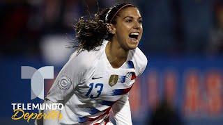 Alex Morgan y USA listas para Francia 2019   Copa Mundial Femenina Francia 2019   Telemundo Deportes