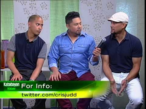 Choreographer Cris Judd with Comedians Joey Guila & Keith Pedro