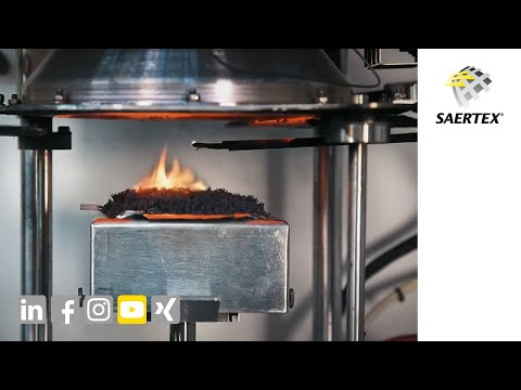 SAERTEX LEO® COATED FABRIC - non-crimp fabric with integrated fire protection