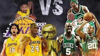 2010 NBA final game7 Boston Celtics Vs LA Lakers【no delete】