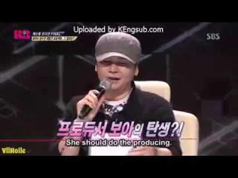 YG Yang Hyun Suk praising Kwon BoA