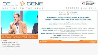 Workshop: Identifying Pitfalls within Gene Therapy Development and How to Overcome Them