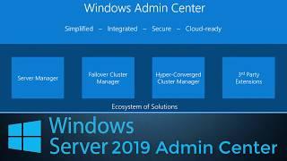 Windows 2019 : Admin Center